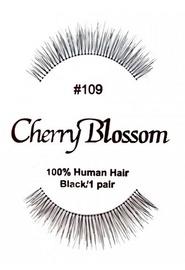 Cherry Blossom 100% Human Hair Eyelashes 109
