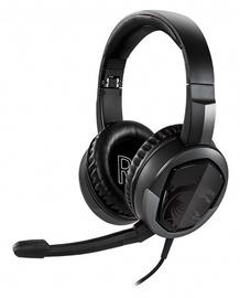 Ausinės MSI Immerse GH30 V2 Black