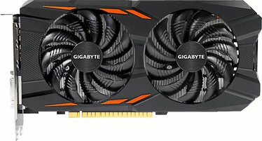Gigabyte GeForce GTX 1050 Ti Windforce OC 4GB GGDR5 PCIE GV-N105TWF2OC-4GD