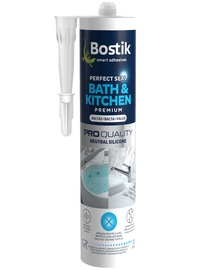 Bostik Bath&Kitchen Perfct Seal Neutral Silicone 280ml White