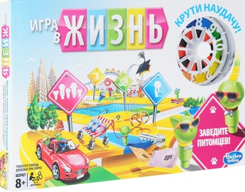 Stalo žaidimas Hasbro The Game Of Life, RUS