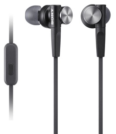 Ausinės Sony XB50AP EXTRA BASS In-Ear Headphones Black