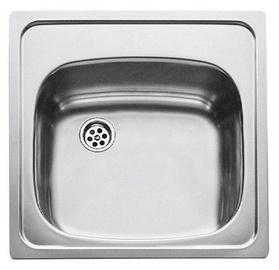 Teka E 50 1C CN 465x465 Mat Sink Stainless Steel