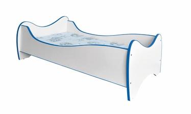 Vaikiška lova Duo mėlyna, 70 x 140 cm