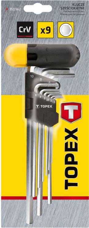 Topex 35D962 HEX Key Set