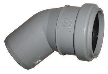 Wavin Elbow Pipe Optima Grey 45° 50mm