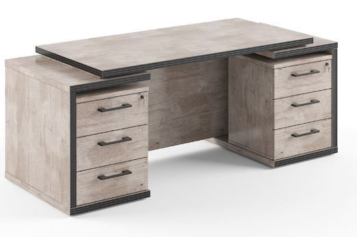 Skyland Table With 2 Cabinets TDT 190x75x75cm Oak Canyon