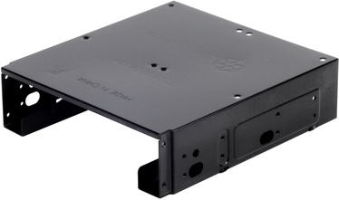 "SilverStone SDP10B 5.25"" to 3.5"" and 2.5"" Bay Converter Black"