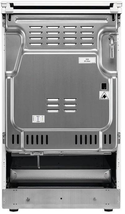 Elektri-gaasipliit CKB56401BW
