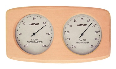 Harvia SAS92300 Sauna Thermometer with Hygrometer