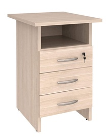DaVita Alfa 63.60 Office Cabinet Koburg Oak