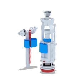 Vandens nuleidimo ir prileidimo mechanizmų komplektas Ani Plast WC3050C, 1/2''