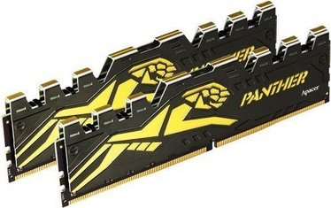 Apacer Black Panther Yellow 16GB DDR4 2400MHz CL16 KIT OF 2 EK.16GAT.GECK2