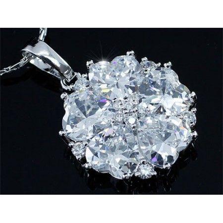 Vincento Pendant With Zirconium Crystal DP-SN389