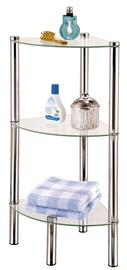 Axentia Bathroom Corner Shelf Chrome