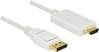 Delock DisplayPort 1.2 Male to HDMI-A Male Passive 1m White