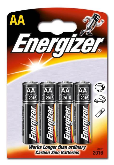 Elementai Energizer, LR6, 1.5V, 4 vnt.