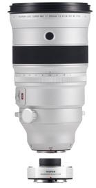 Fujifilm Fujinon XF 200mm F2 R LM OIS WR Lens + XF1.4X TC F2 WR Teleconverter White