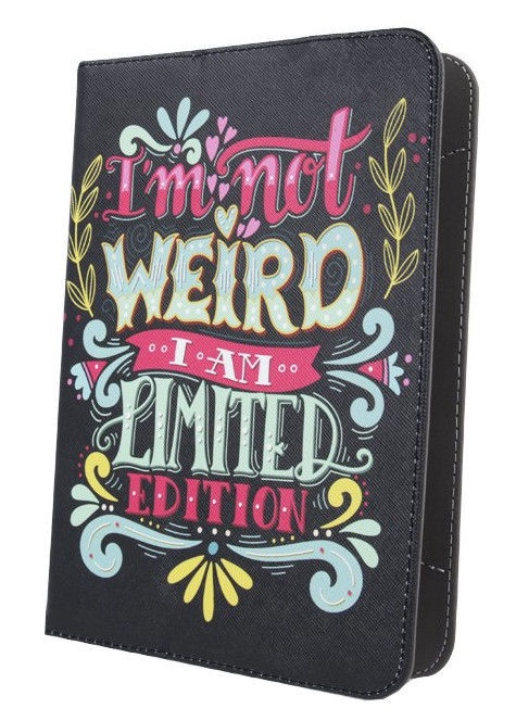 GreenGo Universal Tablet Case 9-10 I'm not Weird