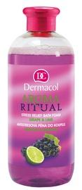 Dermacol Aroma Ritual Bath Foam 500ml Grape & Lime