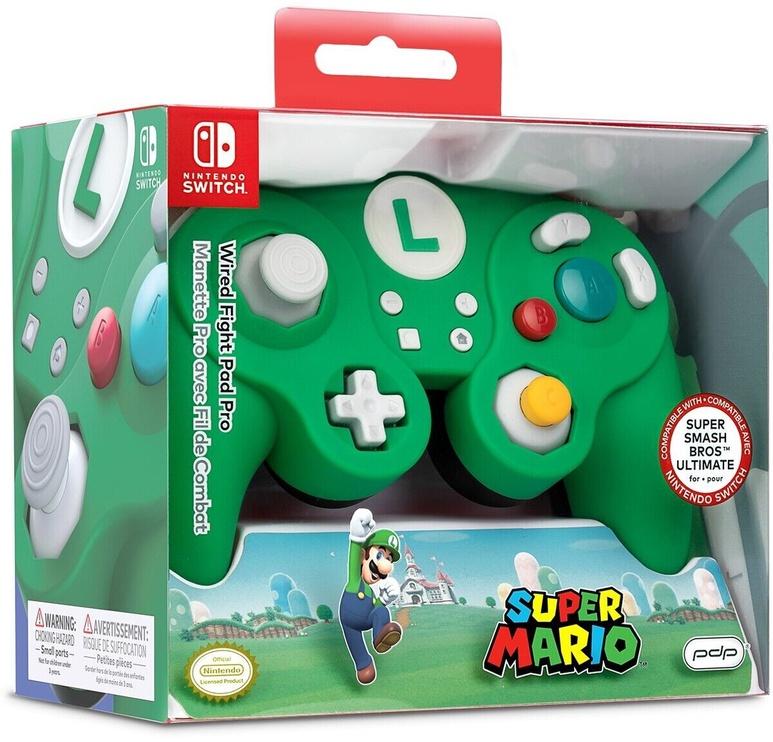 Игровой контроллер Pdp Wired Fight Pad Pro Luigi