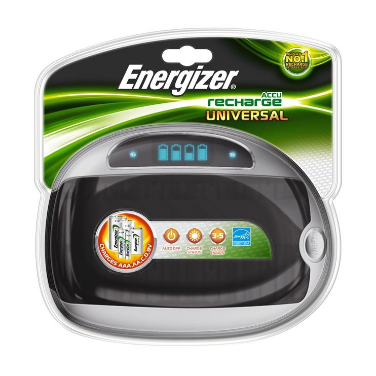 Energizer Universāl lādētājs AA, AAA,C,D