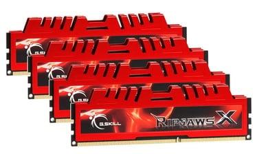 Operatīvā atmiņa (RAM) G.SKILL RipjawsX F3-12800CL10Q-32GBXL DDR4 32 GB