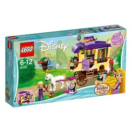 Konstruktor LEGO Disney Princess Rapunzels Traveling Caravan 41157