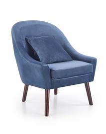 Fotelis Opale, mėlynas