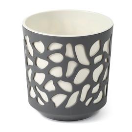 Вазон SN Duet Indoor Plant Pot 25.5x27cm Grey White