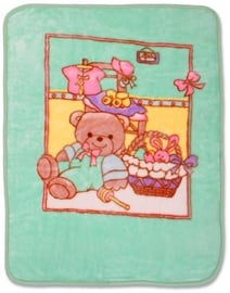 Baby Mix Blanket 80x110cm Green