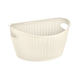 SN Knit Storage Basket 1.5l Cream