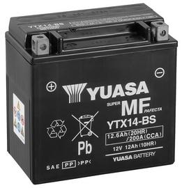 Аккумулятор Yuasa YTX14-BS, 12 В, 12 Ач, 200 а