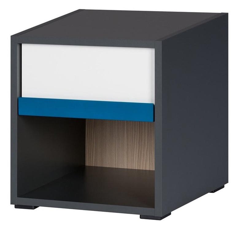 Szynaka Meble Ikar 51 Nightstand 35.5x38.5cm Grey
