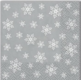 Paw Decor Collection Stars Everywhere 25x25cm Silver