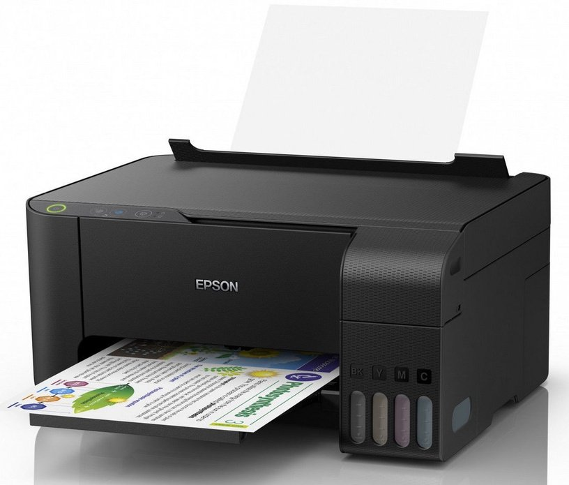 Многофункциональный принтер Epson L3111, струйный, цветной