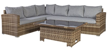 Комплект уличной мебели Home4you Zurich Brown/Grey
