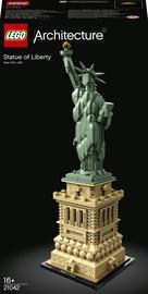 Конструктор LEGO Architecture Статуя Свободы 21042, 1685 шт.