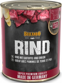 Влажный корм для собак (консервы) Belcando Wet Dog Food With Beef 800g