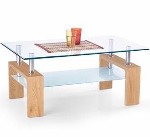Kavos staliukas Diana Intro ąžuolo spalvos, 100 x 60 x 45 cm