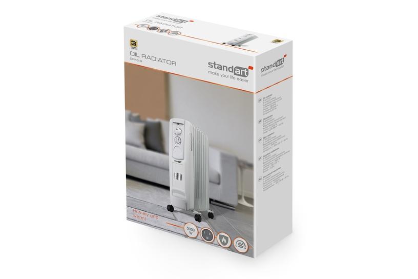 Масляный нагреватель Standart OR15-9, 2000 Вт