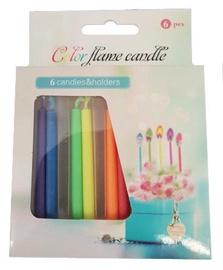 Avatar Color Flame Candle 6pcs