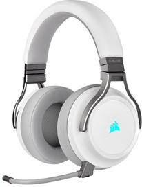 Ausinės Corsair Virtuoso RGB Wireless White, belaidės