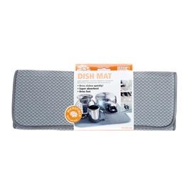 Mikropluošto kilimėlis indams džiovinti Smart, pilka