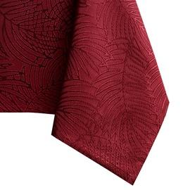Скатерть AmeliaHome Gaia, красный, 1400 мм x 3400 мм