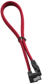 Juhe Cablemod ModMesh Right Angle SATA 3 Cable, punane, 0.3 m