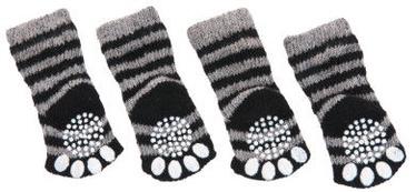 Karlie Flamingo Doggy Socks S Black/Grey