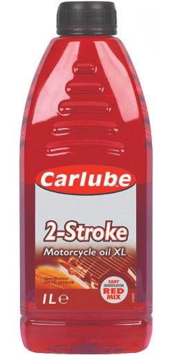 Машинное масло Carlube 2-Stroke Motorcycle Oil XL, минеральное, для мототехники, 1 л
