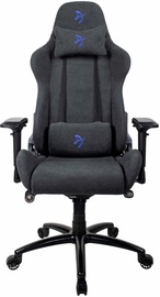 Игровое кресло Arozzi Verona Signature Soft Fabric Black / Blue Logo