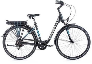 """Электрический велосипед Leader Fox Park City, 16.5"""", 28″"""